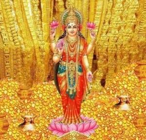 Goddess-Lakshmi-Kanakadhara-Stotram